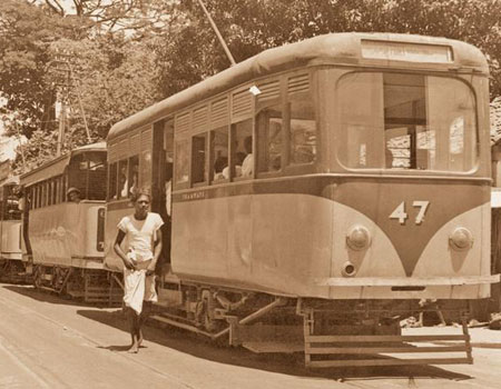 COLOMBO TRAMWAYS - DOWN MEMORY LANE