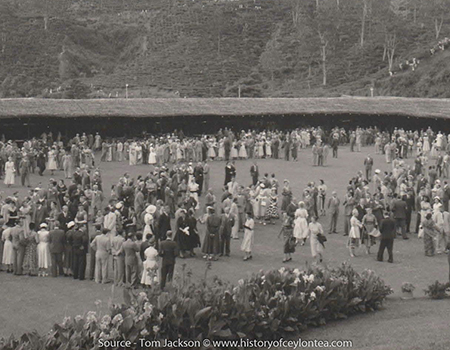 HM Queen Elizabeth's visit to the Radella Club, Nanuoya 1954.