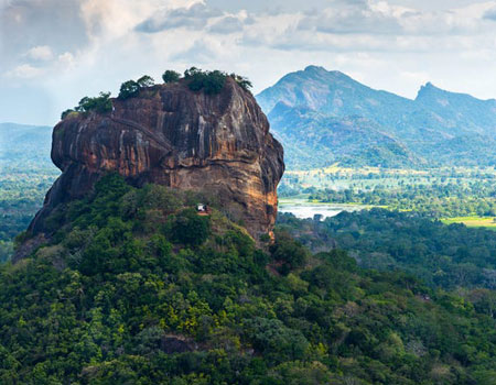 Get your steps in climbing the stairs at Sigiriya.
