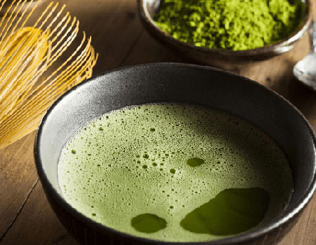 Matcha is known to help aid in weightloss.
