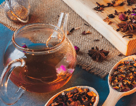 Herbal blended tea is aromatic and flavorful and has myriad benefits.