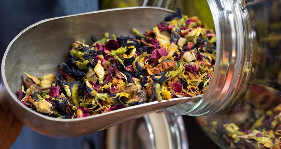 Several shops in the Capital Region, including Classy Hippe Tea, sell loose-leaf teas.