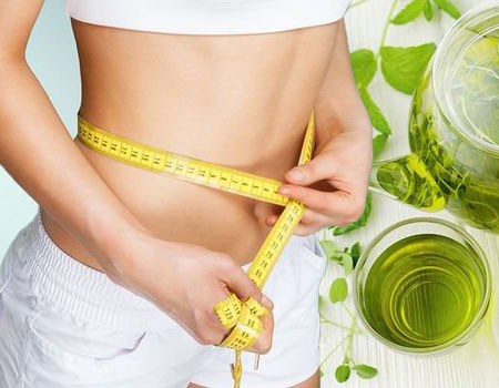 Weight loss: Drinking green tea has been found to aid weight loss (Image: Getty Images)