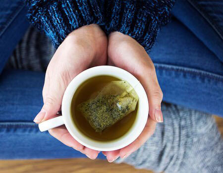 Weight loss: Green tea is loaded with powerful antioxidants called catechins (Image: Getty Images)