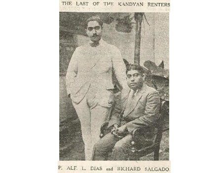 Last of the Kandyan Arrack Renters (1922) P. Alf Dias & Richard Salgado