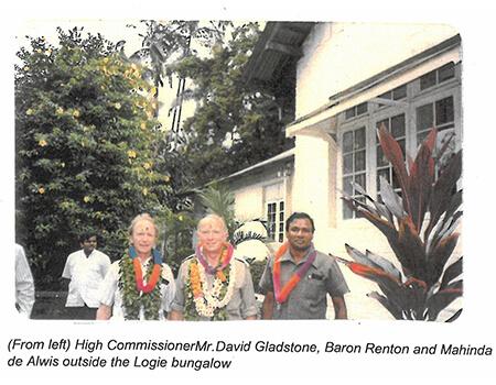 Visit by Baron Timothy Renton to Middleton Estate in 1988