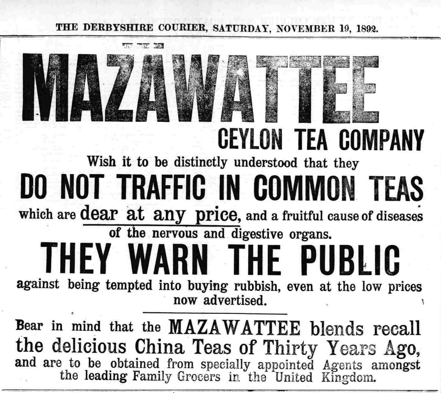 52.Mazawattee Warn The Public