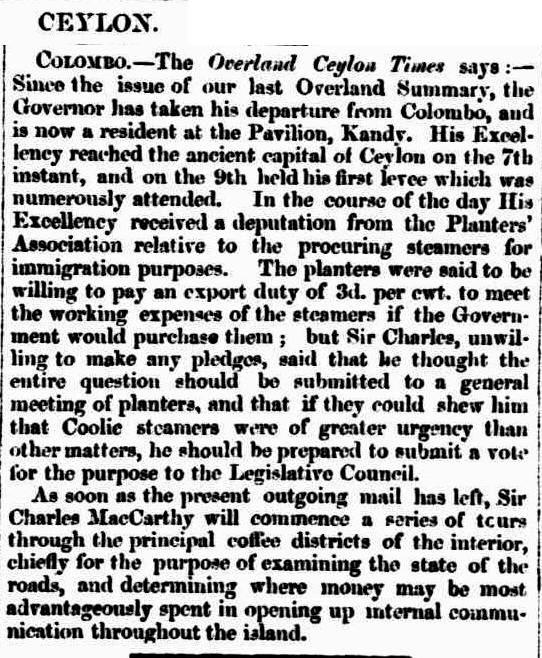 47.Ceylon (From the Overland Ceylon Times)