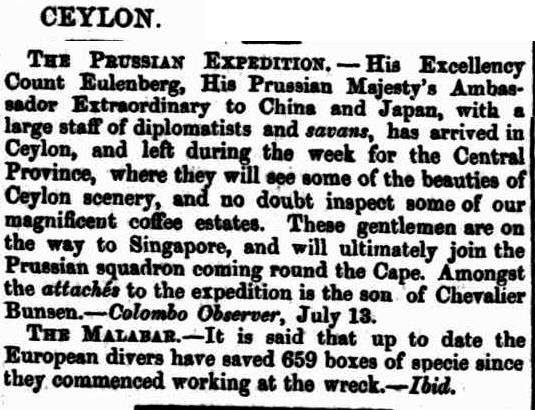 48.Ceylon - The Prussian Expedition
