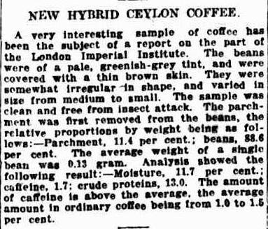 49.New Hybrid Ceylon Coffee