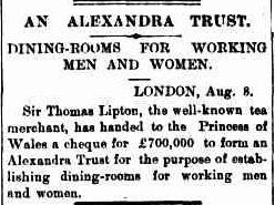 05.An Alexandra Trust - Dining rooms for working men & women