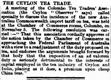 57.Ceylon Tea Trade - A meeting of the Colombo Tea Traders Association