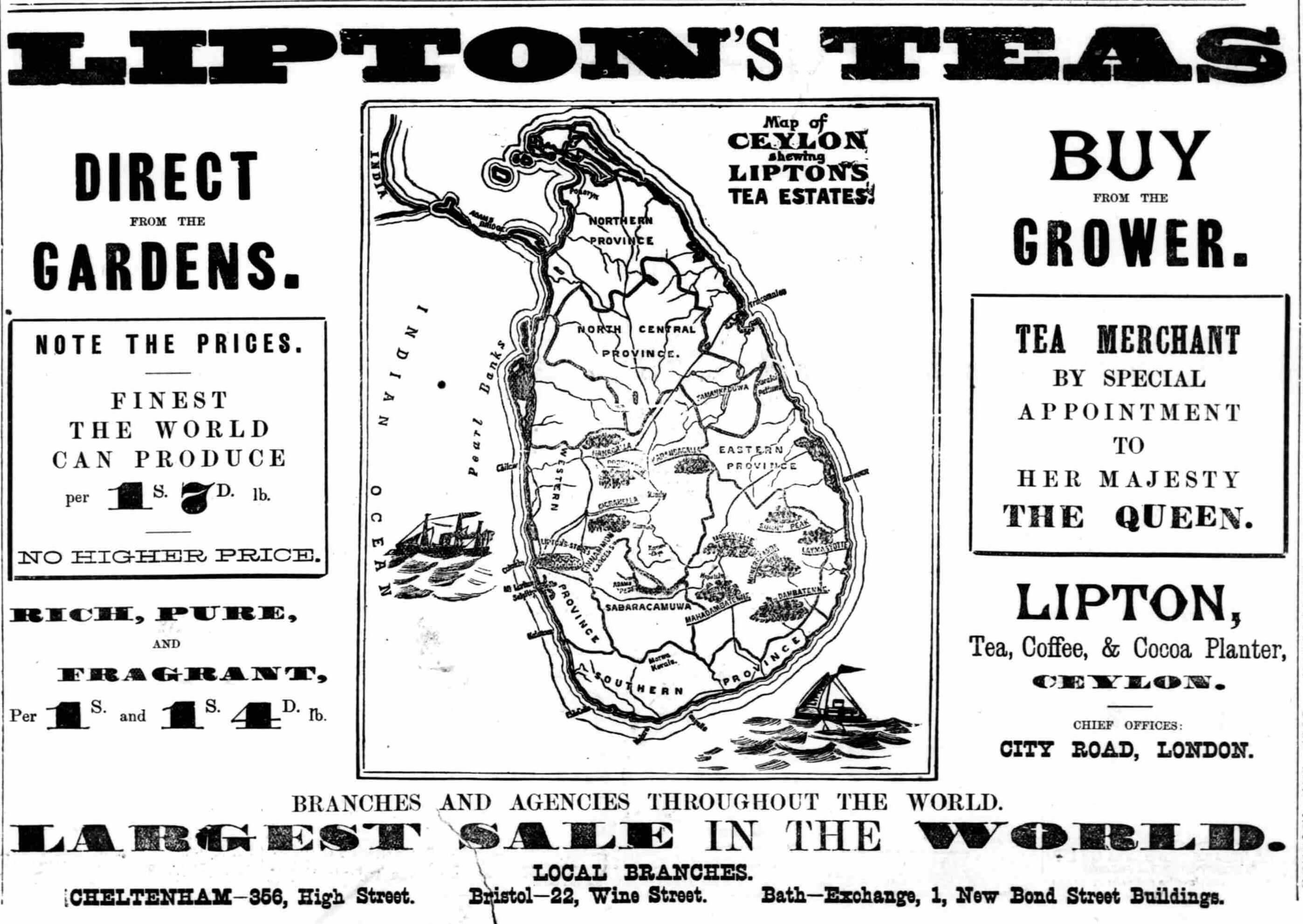 100. Lipton's Tea