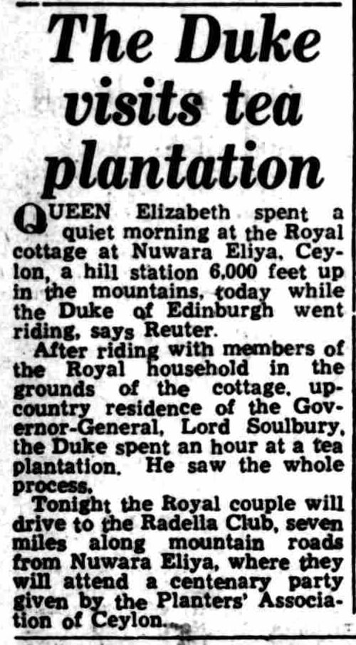 95. The Duke Visits Tea Plantation