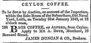33.Ceylon Coffee - Auction by James Duncan & Co